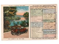 Having A Glorious Time Here - Ok For Four - Easy Correspondence Card Postcard