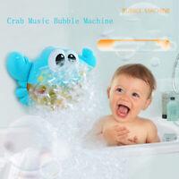 Automatic Durable Bubble Machine Fan Gun Blower Maker Kids Fun Toy Gift