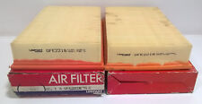 2 X UNIPART GFE2218 AIR FILTER AUDI A6, CABRIOLET, COUPE, 80,100, VW CORRADO +