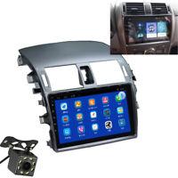 "9"" Stereo Radio MP5 Multimedia Player GPS w/ Backup Camera For Corolla 2008-2013"
