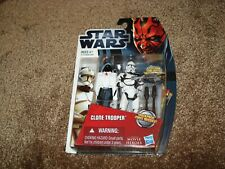 "STAR WARS 2012   ""CLONE TROOPER MH11""   WITH GALACTIC BATTLE GAME CARD"