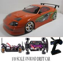 1/10 Scale  F&F TOYOTA SUPRA- RTR Custom RC Drift -Cars  2.4Ghz & Charger