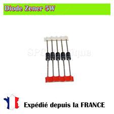 Diode Zener 1N5378B, 100V 5W Boitier DO201
