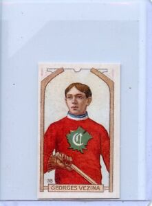 GEORGES VEZINA ROOKIE - HOCKEY CARD - COMES WITH FREE SHIPPING