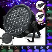 54x3W RGBW LED Light 162W PAR 64 DMX Indoor DJ Party Club Stage Show Lighting