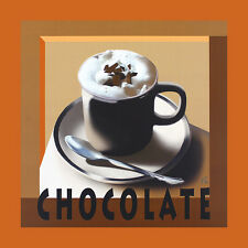Herbert agarra chocolate póster son impresiones artísticas imagen 60x60cm