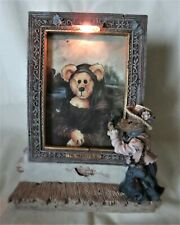 """Boyds Picture Frame """"The Collector's Masterpiece"""" #27301Gcc 1997 Special Edition"""