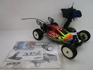 Vtg TEAM ASSOCIATED RC10 B4.1 RC Car Buggy 1:10 Scale Electric Off Road Vehicle