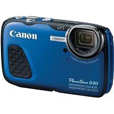 Canon Powershot D30 Waterproof 12.1  Mp Cmos Digital Camera Built-In Gps