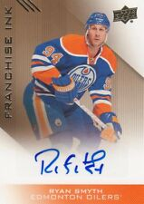 2013-14 Edmonton Oilers Collection Franchise Ink Ryan Smyth Auto.