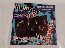 """Hall & Oates """"A Nite At The Apollo Live!"""" PICTURE SLEEVE! MINT! ONLY NEW COPY!!"""