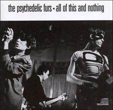 PSYCHEDELIC FURS - ALL OF THIS & NOTHING CD - COLUMBIA RECORDS, 1988, CK 44377