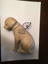 NWT Faithful Dog Angel Bereavement Memorial Collectible Pet Figurine By Carson