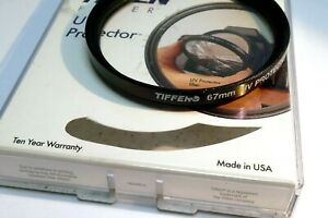 Tiffen UV Protector 67mm Lens filter made in USA