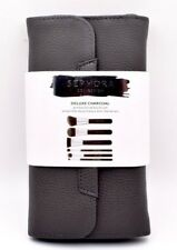 SEPHORA Deluxe Charcoal Antibacterial Brush Set: New Authentic, NWT