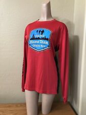 Game Gear S Chicago Home Team Charity Run Long Sleeved Running Top Red