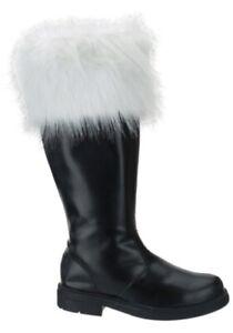 Fur Top Santa Claus Boots