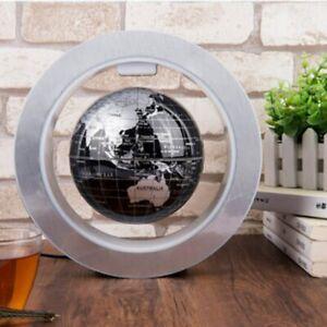 4 inch LED World Map Floating Globe Magnetic Levitation Light Anti Gravity Magic