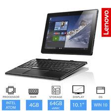 "Lenovo Ideapad Noir 310- 10.1 "" 2 in 1 Ordinateur Portable / Tablette Intel Atom"