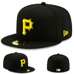 New Era Pittsburgh Pirates Kids Fitted Hat MLB Authentic Youth Boys On Field Cap