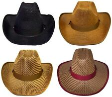 Cowboy - Cowgirl Rodeo Western Hats  Wholesale 4Pc Lot  (  ECowBg31*)
