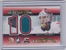 Mikka Kiprusoff 2012 ITG BTP Toronto Expo Glove / Pad Redemption /10