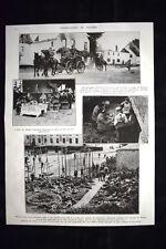 Visé Village de Mouland Bruges Carabiniers Diest Anvers WW1 Guerra 1914 - 1918