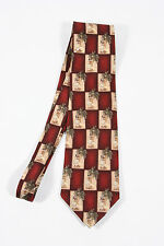 Tropicalo by Tango.  100% silk necktie. Hula girl, grass skirt and palm trees.
