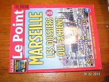 § Le POINT n°2043 MARSEILLE Les Dossiers qui fachent Musée Grande Guerre à Meaux