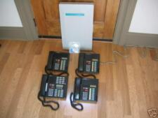 Nortel Norstar Meridian Complete Business Phone System (1) M7310 (3) M7208