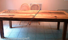 HARVEST TABLE Paper Patterns BUILD YOUR DINING SET 6' TO 10' LONG Easy DIY Plans