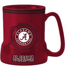 Alabama Crimson Tide Coffee Mug - 18oz Game Time [NEW] NCAA Tea Cup CDG