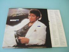 Michael Jackson Thriller Vinyl Lp Album England EPC 85930 281/58 Mint