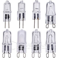 10Pcs G9 G4 Warm White Halogen Capsule Light Bulb Lamp 20W 25W 40W 50W 12V/230V