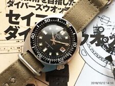 Seiko 6105-8000 Overhaul 2nd Divers Cal6105A Automatic Auth Womens Watch Works