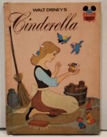 Vintage 1974 Walt Disney's Cinderella Hardcover Book Wonderful World of Reading