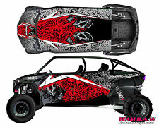 Polaris 4 RZR 1000 xp Design MXVEC 013 Decal Graphic Kit Wraps UTV Turbo Scoop