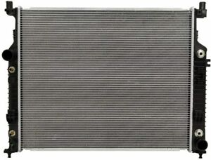 CSF Plastic Tank Aluminum Core 1 Row Radiator for 3457