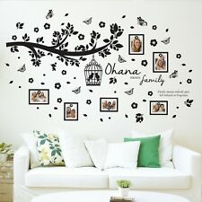 Walplus Family Photo Tree with Frame Wall Sticker Decals Room Home Decorations