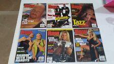Lot 6 WWF Raw Magazine 2000 Jun July Aug Sep Oct Dec Diva  Hardy Stone Cold WWE