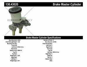 Brake Master Cylinder-Std Trans Centric 130.43020
