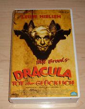 VHS - Dracula - Tot aber Glücklich - Leslie Nielsen - Videokassette