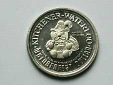 Kimberley BC Canada 1980 Trade DOLLAR Token with German Mascot Happy Hans