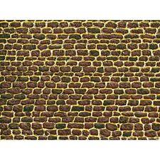 50102 AUHAGEN HO 5 CARTONCINI MURO IN PIETRA 220 x 100 mm. cadauno