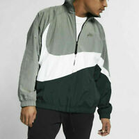 Nike Sportswear Woven Swoosh Loose Fit Windbreaker AR3132-728 Yellow NEW Sz XL