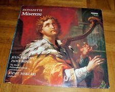 GAETANO DONIZETTI - MISERERE - 50. ZSOLTAR - PSALM 50  1980 SEALED LP - HUNGARY