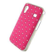 Hard Cover Kristall Stein für Samsung S5830 Galaxy Ace rosa