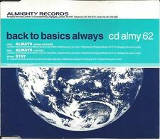 BACK TO BASICS Always EDIT & MIX BON JOVI Remake CD single SEALD Almighty Record