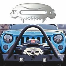 Universal Beast Front Bumper Aluminum 4x4 Hawse Fairlead Synthetic Winch for SUV