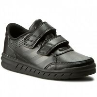 Adidas Alta Sport CF Kids Boys Trainers Shoes   - Black